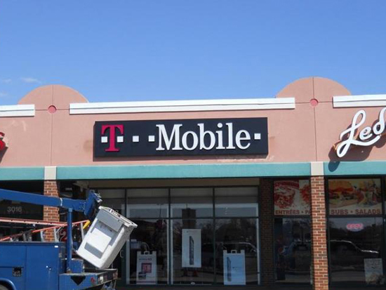 T Mobile Forestville Maryland Dms Sign Connection Inc