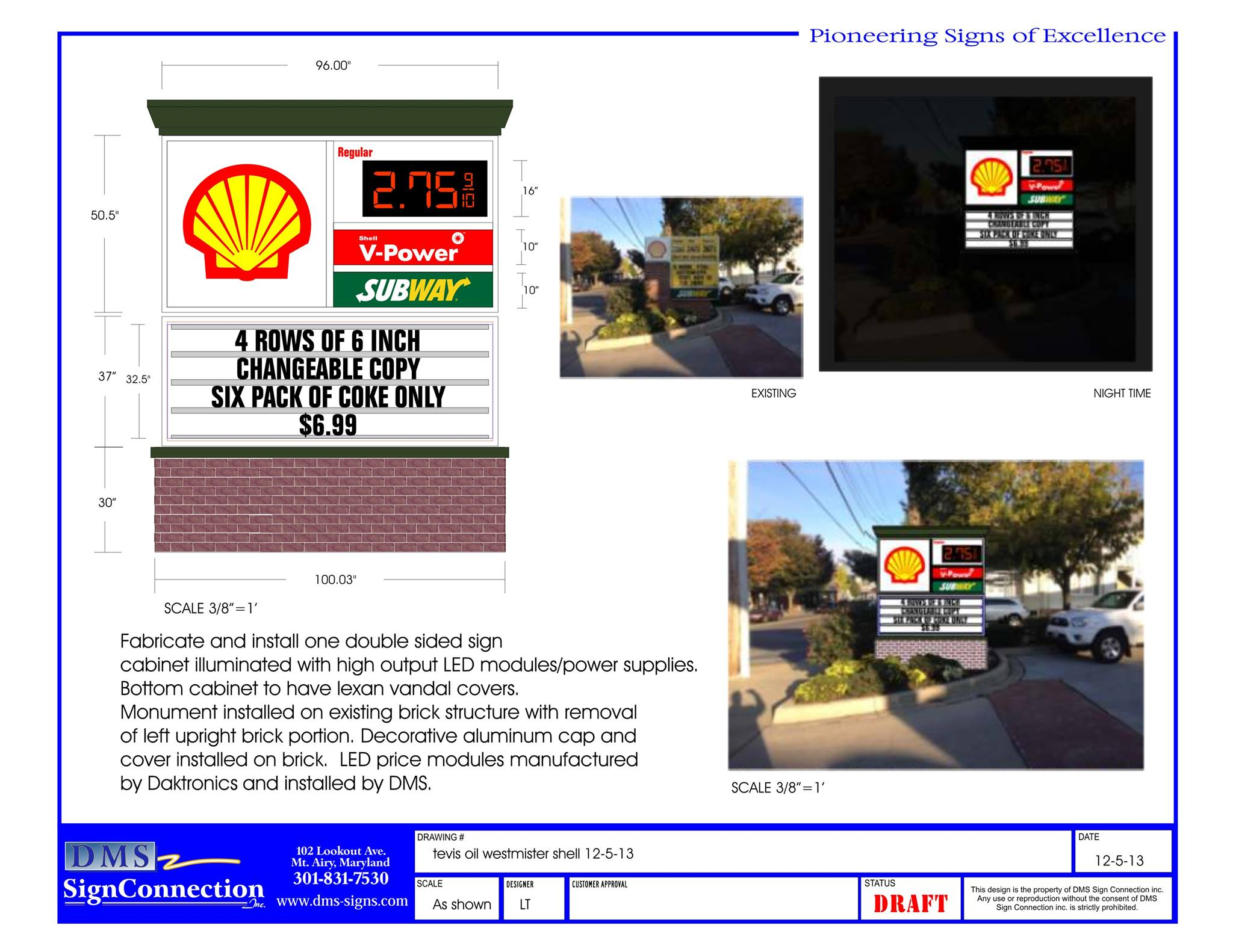 Shell Gas & Subway – Westminster, MD