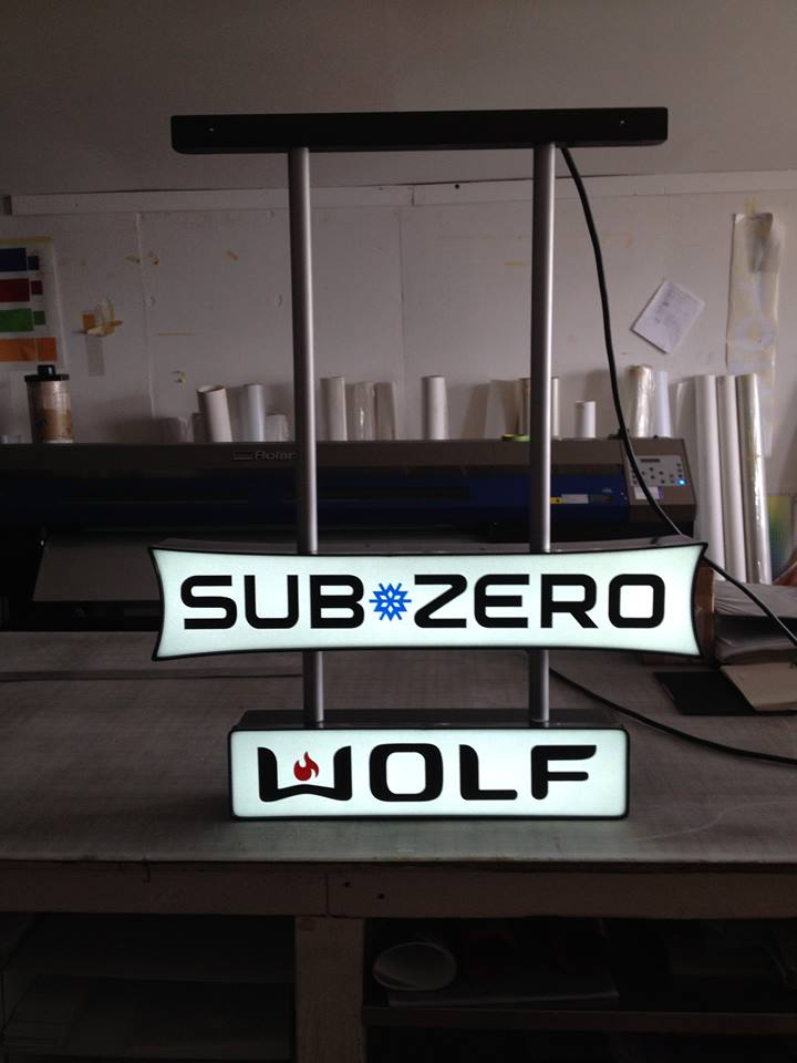 LED Illuminated Sign – Sub Zero